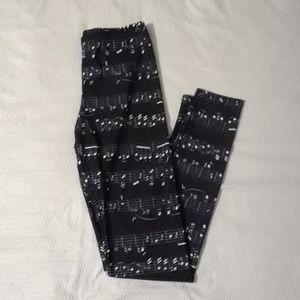 Pants - Music Leggings